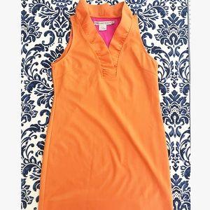 Gretchen Scott Ruffleneck Dress